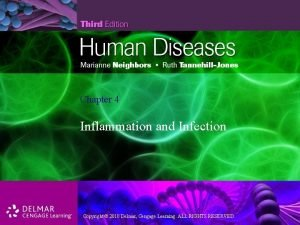 Chapter 4 Inflammation and Infection Copyright 2010 Delmar