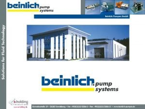 technical datas of lubrication pumps of oil loaded