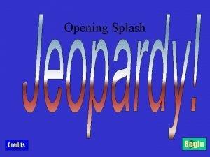 Opening Splash Credits Begin Capulets Montagues The Friar