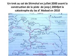 Un trek au col de Shimshal en juillet