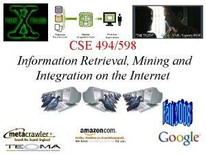 CSE 494598 Given two randomly chosen webpages p