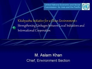United Nations Economic and Social Commission for Asia