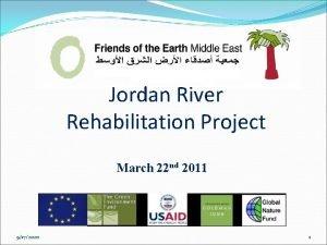 Jordan River Rehabilitation Project March 22 nd 2011
