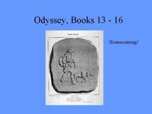 Odyssey Books 13 16 Homecoming Phaeacians leave Odysseus