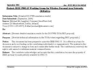 September 2004 doc IEEE 802 15 04 0483