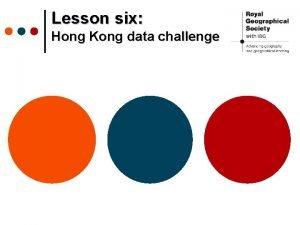 Lesson six Hong Kong data challenge Hong Kong