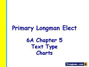 Primary Longman Elect 6 A Chapter 5 Text