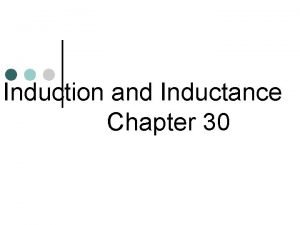 Induction and Inductance Chapter 30 Magnetic Flux Insert