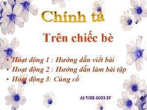 Trn chic b Hot ng 1 Hng dn