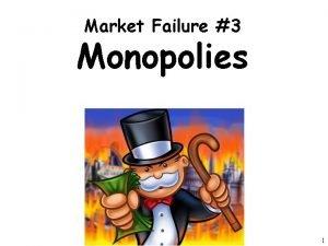 Market Failure 3 Monopolies 1 Monopoly Review 1