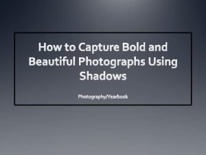 When it comes to capturing a captivating photograph
