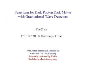 Searching for Dark Photon Dark Matter with Gravitational