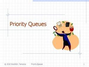 Priority Queues 2010 Goodrich Tamassia Priority Queues 1