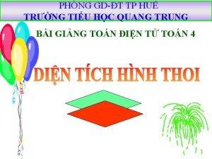 PHNG GDT TP HU TRNG TIU HC QUANG