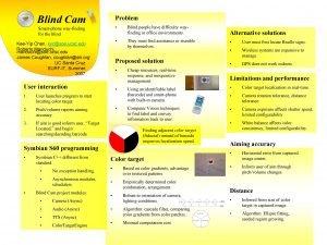 Blind Cam Problem Smartphone wayfinding for the blind