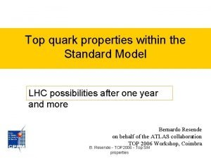 Top quark properties within the Standard Model LHC