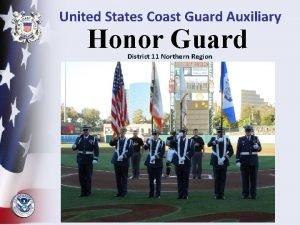 United States Coast Guard Auxiliary Honor Guard District