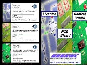 Livewire Control Studio PCB Wizard R Moffatt Assistant