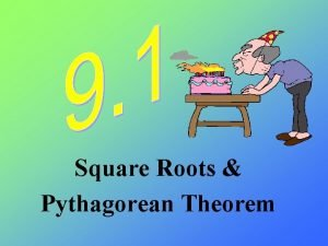 Square Roots Pythagorean Theorem Inverse Operations The opposite