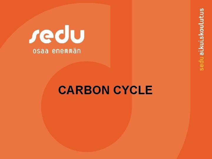 CARBON CYCLE Carbon Carbon is a common nonmetal