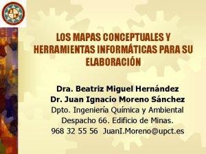 LOS MAPAS CONCEPTUALES Y HERRAMIENTAS INFORMTICAS PARA SU