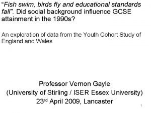 Fish swim birds fly and educational standards fall