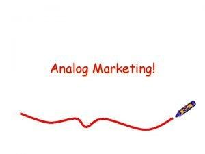 Analog Marketing Single Tasking Analog Marketing Slow Food