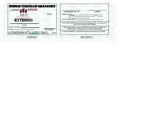 FOTO EXTERNO No CUENTA Av Universidad Tecnolgica No