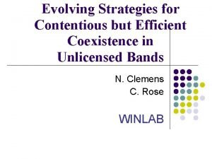 Evolving Strategies for Contentious but Efficient Coexistence in