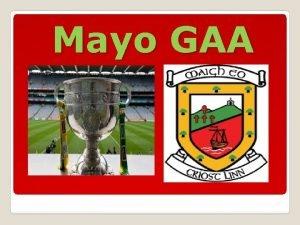 Mayo GAA The Current Mayo Team Mayo GAA