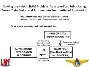 Solving the Indoor SLAM Problem for a LowCost