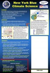 New York Blue Climate Science SUMMARY New York