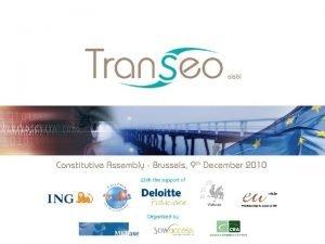 Transeo Association Board of Directors Rosalie van Rijk