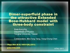 Dimersuperfluid phase in the attractive Extended BoseHubbard model