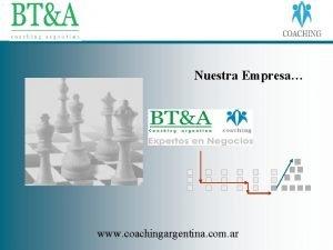 Nuestra Empresa www coachingargentina com ar Quienes somos