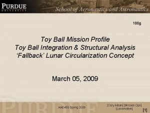100 g Toy Ball Mission Profile Toy Ball