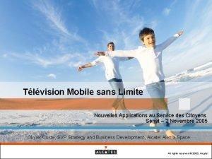 Tlvision Mobile sans Limite Nouvelles Applications au Service