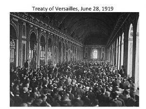 Treaty of Versailles June 28 1919 Article 231