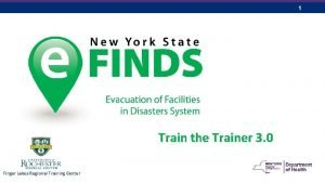 1 Train the Trainer 3 0 Finger Lakes