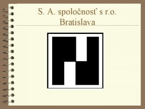 S A spolonos s r o Bratislava Core