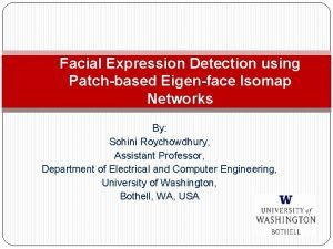 Facial Expression Detection using Patchbased Eigenface Isomap Networks