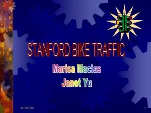 9182020 1 Make observations on daily Stanford traffic