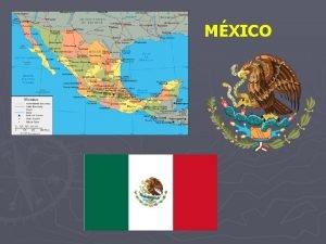 MXICO 1 Origen del Nombre La palabra Mxico