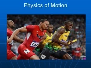 Physics of Motion Physics of Motion Frame of
