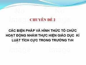 CHUYN 2 CC BIN PHP V HNH THC