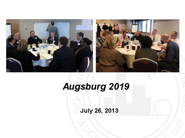 Augsburg 2019 July 26 2013 Augsburg 2019 A