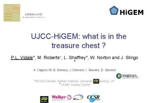 UJCCHi GEM what is in the treasure chest