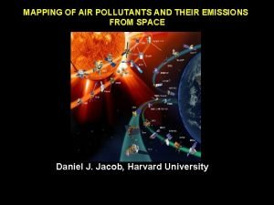 MAPPING OF AIR POLLUTANTS AND THEIR EMISSIONS FROM