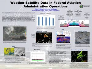 Weather Satellite Data in Federal Aviation Administration Operations