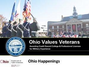 Ohio Values Veterans Ohio Happenings Topics Multistate Collaborative